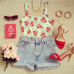 summer outfit. ♥ The Fashion: Gorgeous dress black fur Summer outfits Teen fashion Cute Dress! Clothes Casual Outift for • teenes • movies • girls • women •. summer • fall • spring • winter • outfit ideas • dates • school • parties mint cute sexy ethnic skirt