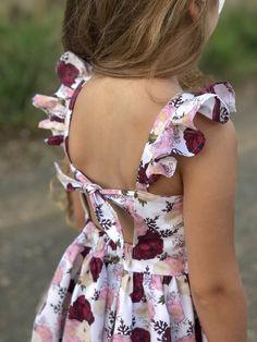 Malibu — Little Lizard King Little Girl Dress Patterns, Baby Girl Dress Patterns, African Dresses For Kids, Little Girl Dresses, Little Girl Fashion, Kids Fashion, Baby Dress Design, Kids Frocks, Kind Mode