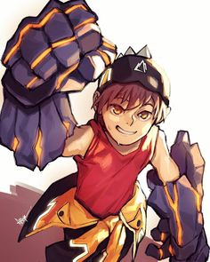 Boboiboy Anime, Boboiboy Galaxy, Asuna, I Wallpaper, Animation Series, Super Powers, Cartoon Art, A Team, In This World