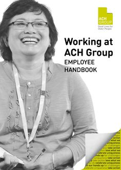 Working at ACH Group - Employee Handbook Corporate Values, Employee Handbook, Take Action, Group, People, Life, Ideas, People Illustration, Thoughts