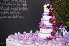A lovely purple cake. Superstition Mountain Golf Club, Radiant Photography, My Goodness Cakes
