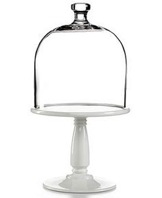 Martha Stewart Collection Serveware, Bell Jar Dome Cake Stand - Serveware - Dining & Entertaining - Macy's