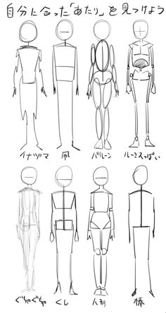 Different ways to draw a character Anatomy Sketches, Body Sketches, Anatomy Art, Art Sketches, Art Drawings, Human Anatomy Drawing, Body Drawing Tutorial, Manga Drawing Tutorials, Poses References