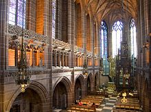 Liverpool Cathedral, Liverpool, Merseyside, England