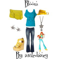 """Bloom"" by invitedisney on Polyvore"