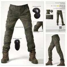 Great looking armoured jeans.  Look comfy too.