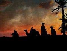 Nubian Sunset On The Nile Egypt by Terry Fleckney on Crated. #Egypt #silhouette #wisemen @terryfleckney