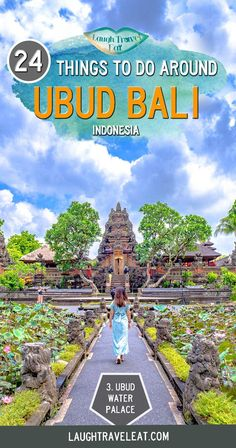 24 things to do in Ubud Bali is part of Best Things To Do In Ubud Bali The Crazy Tourist - Ubud is one of the most popular cities in Bali Whether you are looking for monkeys, temples, or nature, you'll find plenty to do Cool Places To Visit, Places To Travel, Travel Destinations, Places To Go, Bali Travel Guide, Asia Travel, Travel Guides, Wanderlust Travel, Budget Travel