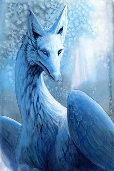 gorgeous 'Snow Dragon' - hibbary deviantArt         me> tweaking Wynter