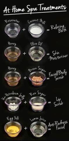 DIYHome treatments made spa treatments #beauty #hgeats