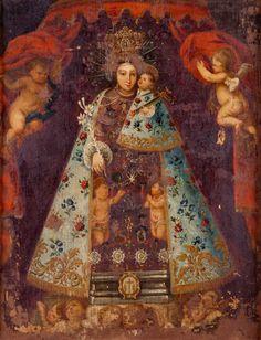 Virgen de los Desamparados (Our Lady of the Foresaken), Valencian School
