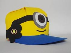 gorras de foami de minions - Buscar con Google Foam Crafts, Diy And Crafts, Minion Party, Birthday, Google, Ideas Para, Avatar, Halloween, Children
