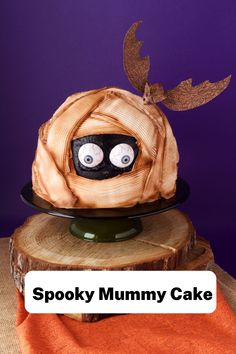 Do you need Halloween treat ideas? This Halloween dessert is perfect for a Halloween party treat. Kids and adults alike will love this Spooky Halloween Mummy Cake! Whether you are going to a Halloween party or just baking for Halloween at home, this Spooky Mummy Cake is the perfect Halloween dessert! #thebearfootbaker #halloween #halloweendesserts #halloweenfood #halloweenpartyfood #halloweenbaking #halloweentreatideas