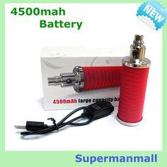 98.00$  Buy here - http://alicwb.worldwells.pw/go.php?t=32350785029 - 5pcs big capacity 4500mah E Cigarette battery Variable Voltage 3.2V-4.2V E Cigarette  vape ego electronic Cigarette Battery