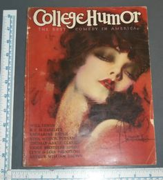 College Humor Magazine November 1935 Rolf Armstrong Cover   eBay