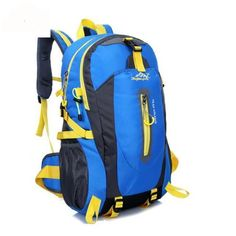 c09dd3a4e5 Outdoor Mountaineering Backpack Hiking Camping Waterproof Nylon