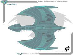 Romulan De'shara Class DN by Galen82 on DeviantArt