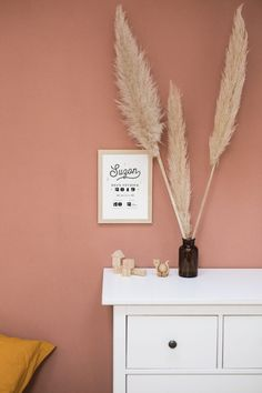 Bedroom Wall, Girls Bedroom, Bedroom Decor, My Living Room, My Room, Candy Decorations, Small Rooms, Wall Colors, Terracotta
