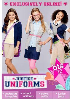 13. Shop School Uniforms  #backtoschool #HFbacktoschool