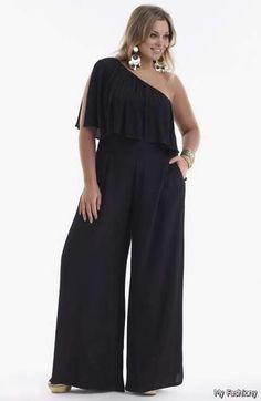 Long sleeve romper pants womens dressy jumpsuits one piece shorts jumpsuit Vestidos Plus Size, Plus Size Dresses, Plus Size Outfits, Plus Size Romper, Plus Size Jumpsuit, Dress First, The Dress, Jumpsuit Dressy, Black Jumpsuit
