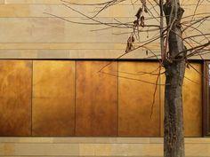 Ottone brunito per rivestimenti di coperture e facciate TECU® Brass_brownished by KME Architectural Solutions