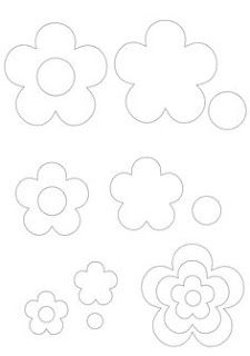 Felt Flowers Patterns, Diy Flowers, Fabric Flowers, Paper Flowers, Felt Crafts, Diy And Crafts, Paper Crafts, Easy Hand Drawings, Embroidery 3d
