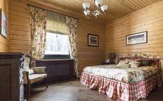 Спальня в деревянном доме: фото дизайна интерьера и оформления спальни деревом в доме
