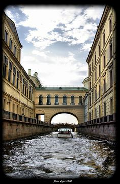 The Winter Canal, St. #Petersburg, #Russia http://VIPsAccess.com/luxury-hotels-dubai.html