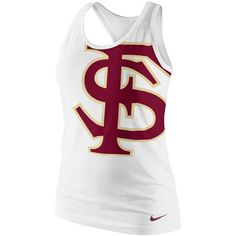 Nike Florida State Seminoles (FSU) Ladies Logo Tri-Blend Racerback Tank Top