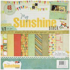 Paper Stacks Fêtes 30,5 x My Sunshine Stack, Lot de 48: Amazon.fr: Cuisine &…