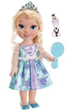 Amazon.com: Disney Frozen Elsa Toddler Doll: Toys & Games
