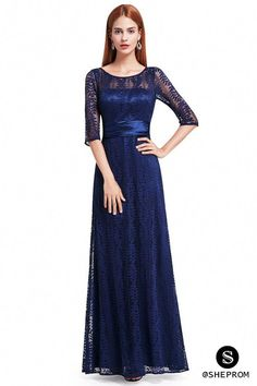 Women's Elegant Long Mother of the Bride Dresses 2018 Ever Pretty Cheap Grey Lace Floor-Length Plus Size Mother Dresses Maxi Bridesmaid Dresses, Prom Party Dresses, Formal Evening Dresses, Winter Dresses, Bride Dresses, Lace Dresses, Lovely Dresses, Beautiful Gowns, Ever Pretty
