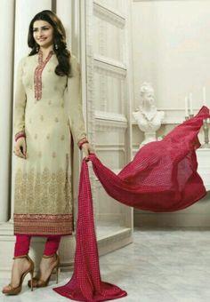 #Kaseesh #Prachi Indian Salwar Kameez Suit Vol26 4561 #PINK