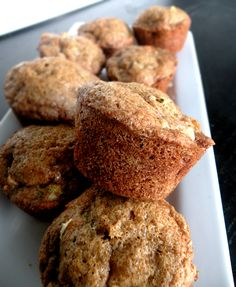 Apple Zucchini Muffins....made these yesterday, AMAZING!