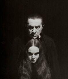 Mark of the Vampire - 1935 -  Bela Lugosi plays  Count Mora  Carroll Borland is Luna Mora