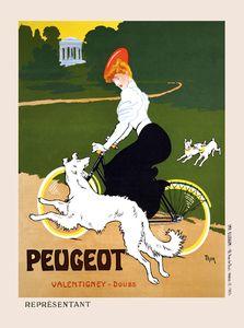 Peugeot Vintage Poster