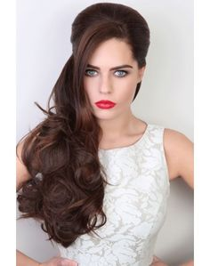 Tousled Hairpiece   Synthetic Hair piece