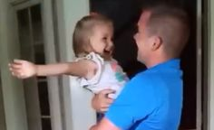"""[VIDEO] Military Dad Surprises 3-Year-Old Daughter On Her Birthday  