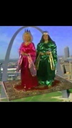 Old Becky & Wanda TV commercials!