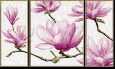 орхидеи - Схемы вышивки - valentinastroilova - Авторы - Портал «Вышивка крестом»
