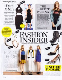 Sophie Cox shoes featured in WHO Magaxzine Fashion Insider May 2014