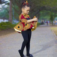 Baby Girl Ankara Trouser and Top Style for Birthday.Baby Girl Ankara Trouser and Top Style for Birthday Baby African Clothes, African Dresses For Kids, African Print Dresses, African Babies, African Outfits, African Fashion Ankara, African Wear, Ankara Clothing, Ankara Gowns