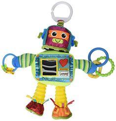 Tomy Lamaze Play and Grow Take Along Toy, Rusty the Robot Tomy http://www.amazon.com/dp/B004BSFC6E/ref=cm_sw_r_pi_dp_9YcPub0HG9H71