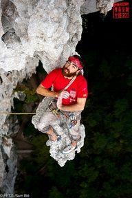 "Sean VILLANUEVA in ""Nihao Wopeka !"" by Petzl sport, via Flickr © Sam Bie"