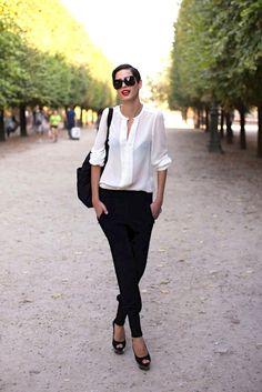 Les 106 meilleures images de Chemise blanche : Avec quoi la