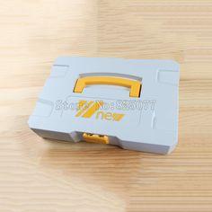 Multifunction DIY Plastic Toolbox Woodworking Hardware Storage KF1024