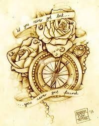 Výsledek obrázku pro tattoos compass with text