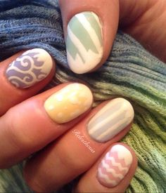 Easter Egg 1 by Relesthesia from Nail Art Gallery