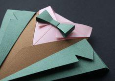 Fedrigoni 2012 YCN by Jonathan Shackleton. It's DIY templates to make little paper men's evening wear.