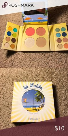 BH Palette Some colors have been slightly used. Has been cleaned and sanitized. Comes with Eyeshadows, Blushes, Bronzer & Highlighter. Mirror on this one is broken. Makeup Eyeshadow